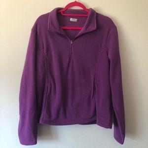 Danskin Now Purple Pullover